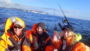 Møn, fiskeri, girlfishing.dk laks