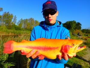 Kristian, guldørred, girlfishing.dk, agernæs saltvands put and take