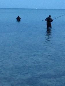 Nordfeldt strand, girlfishing.dk Møn