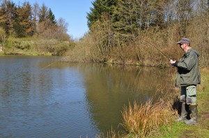 fiskeri, kærshovedgård put and take, girlfishing.dk