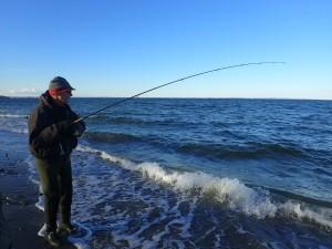 Girlfishing.dk, havørred, fiskeri, mariendal strand