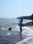 fiskeri girlfishing.dk moesgård strand