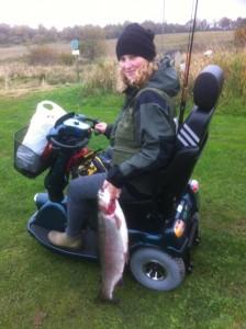 fiskeri handicapfiskeri girlfishing.dk regnbueørred munkbro put and take