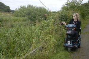Umuligt at fiske på strækningerne mellem handicapfiskeplatformene